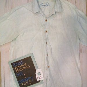 Men's casual Tommy Bahama short sleeve button up
